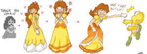 Daisy evolution by DaisyDrawer