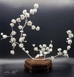 Ikebana Inspiration - Sakura Poetry by KarineDiot