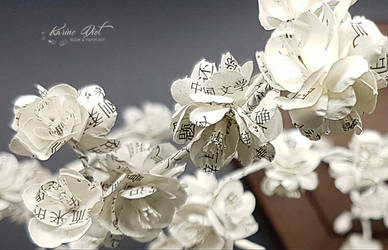 Ikebana Inspiration - Sakura Poetry (close-up) by KarineDiot