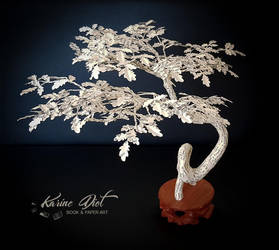 The Oak Bonsai, strength and longevity wishes. by KarineDiot