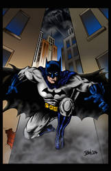 Batman - Coloured version by frogeybeag