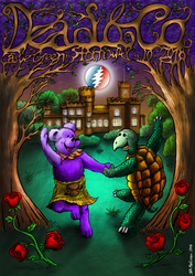 Dead and Company Poster by frogeybeag