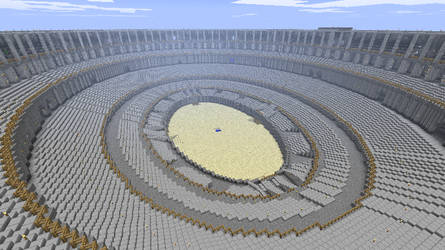 Minecraft - Roman Colosseum by Ludolik