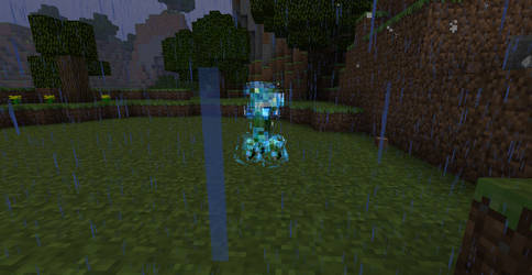 Minecraft - Thunder Creeper by Ludolik