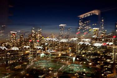 -- toronto skyline 1 -- by Torvon