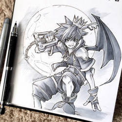 3. Sora from Kingdom Hearts by PokuriMio