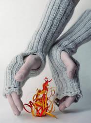 December fire by dinabelenko
