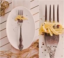 Spaghetti knot by dinabelenko