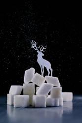Reindeer (Powdered sugar) by dinabelenko