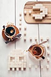 8 bit teatime (Pac-Man) by dinabelenko