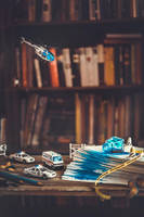 Tiny crimes: desktop accident by dinabelenko