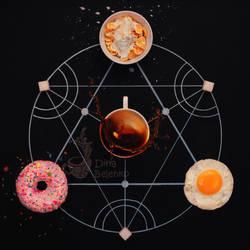Breakfast alchemy by dinabelenko