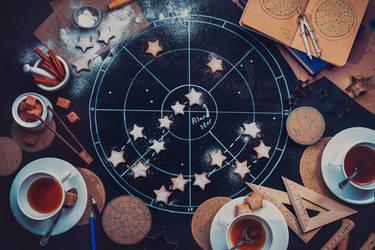 Teatime under the Polar star by dinabelenko