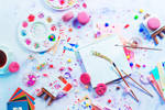 Art and Confetti (1) by dinabelenko