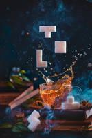 Tetromino tea (2) by dinabelenko