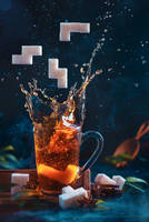 Tetromino tea (3) by dinabelenko