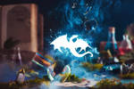 Creature of Light (My Pet Dragon) by dinabelenko