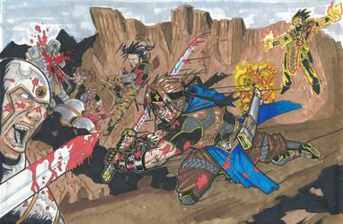 Knights of the Griffons Cross by n3v3rw1nt3rw0lf3