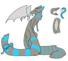 New species adoptable! -Mini contest included!- by Losta-adopts