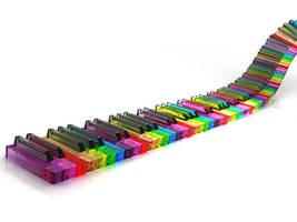 Piano Spectrum by proXxyq