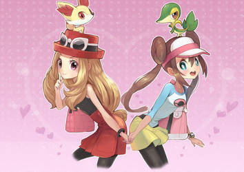 Pokemon girls by amg192003