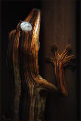 Uroplatus lineatus by Louvargent