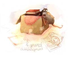 cardboard box by Foyaland
