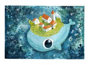 The Village under the sea by Foyaland