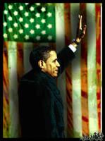 Barack Obama by Libelinha77