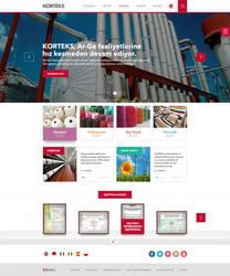 Korteks Web Site by eskikitapci