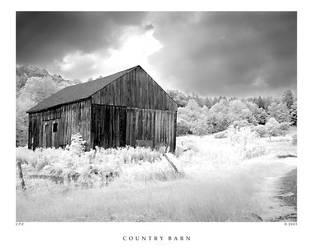 Country Barn by zippzopp