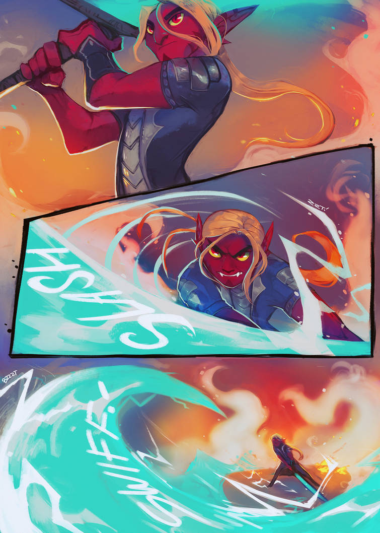 Ratchet and Clank: Back to the Nexus page 17 by ArtofZombiy