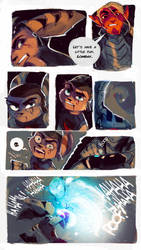 Ratchet and Clank: Stellabris page 22 by ArtofZombiy