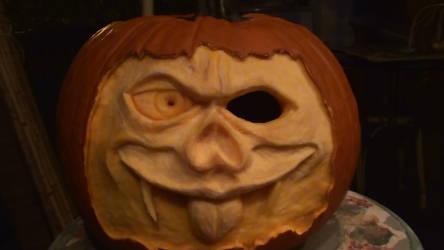 Zombie Pumpkin by KYABUpaks