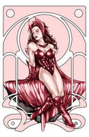 Scarlet Witch by Csyeung