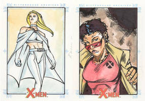 Xmen Archives Sketchcards 18 by Csyeung