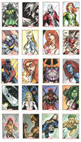 Marvel 70th Sheet 4 by Csyeung