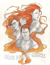 Jason and the Gingers colored by Csyeung