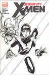 Kitty Pryde sketchcover by Csyeung