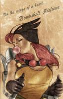 Bombshell Hawkgirl by Csyeung