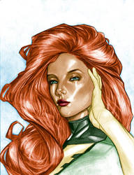 Jean Grey by Csyeung