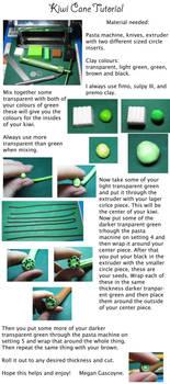 Kiwi cane tutorial by skookyspry