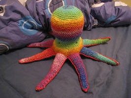My Octopus is a Rainbow by skookyspry