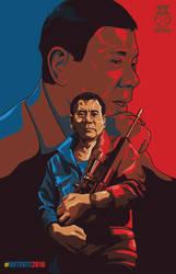Duterte Poster by Fraviro