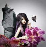 Reverie the black butterfly by faith-ramirez08
