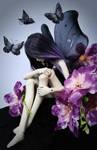 Butterfly girl bjd by faith-ramirez08