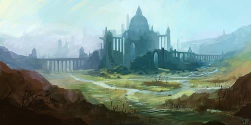 Castle Ruins by JulianF