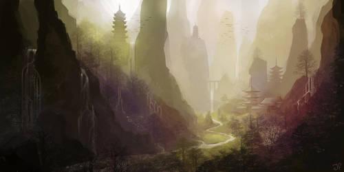 Emerald Valley by JulianF
