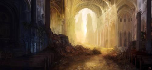 Broken Cathedral by JulianF