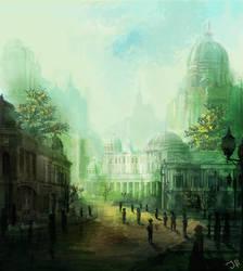 Emerald City by JulianF